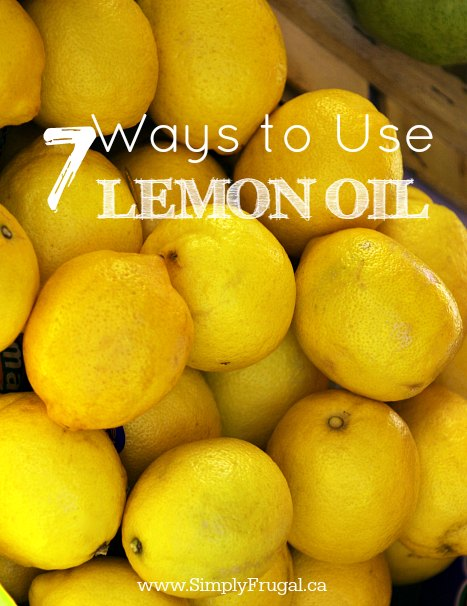 If you have been curious about what lemon oil can do for you, take a look at these 7 ways to use lemon oil and make your life just a little bit easier!