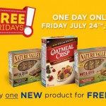 Coupon for Free Oatmeal Crisp or Nature Valley