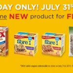 Coupon for Free Chex, Fibre 1 Bars or Nature Valley Muesli