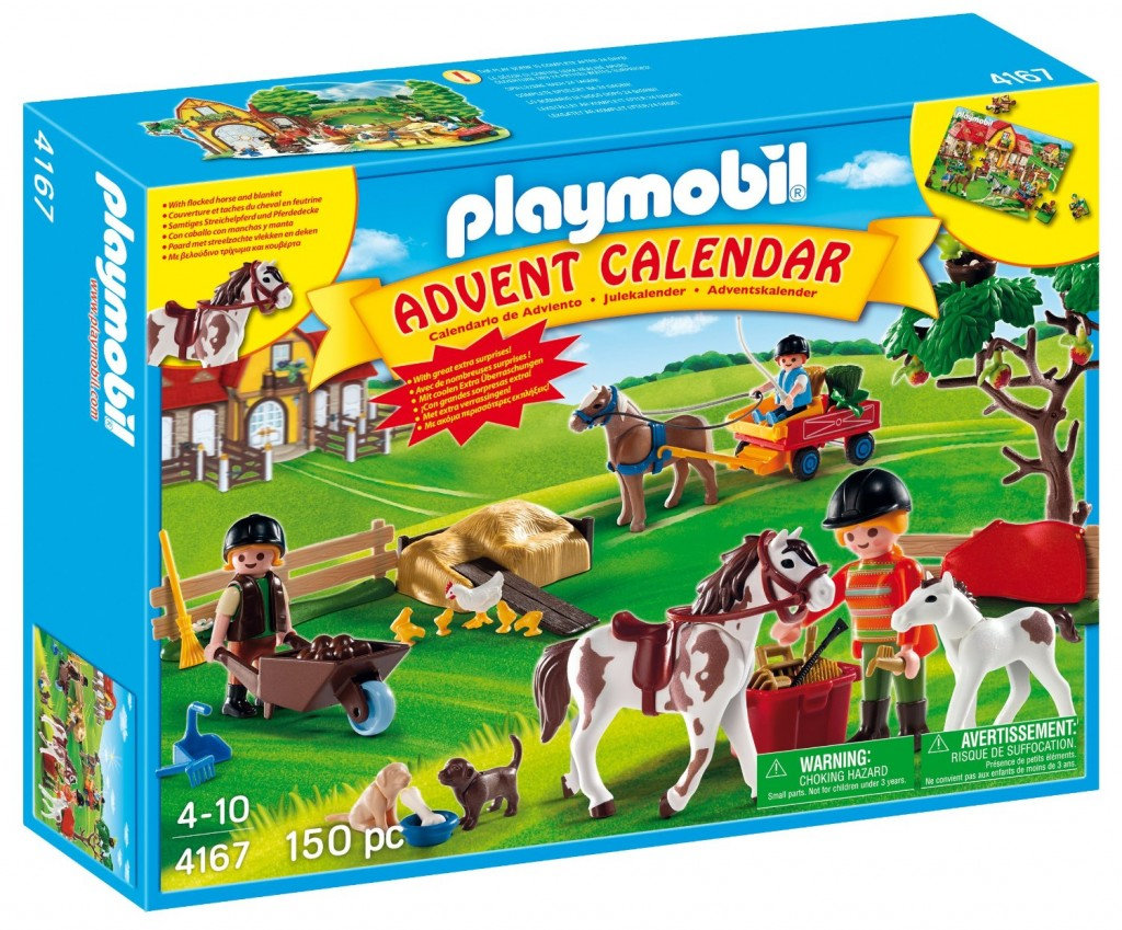 Check this out! Get the Playmobil Pony Farm Advent calendar for only $ ...