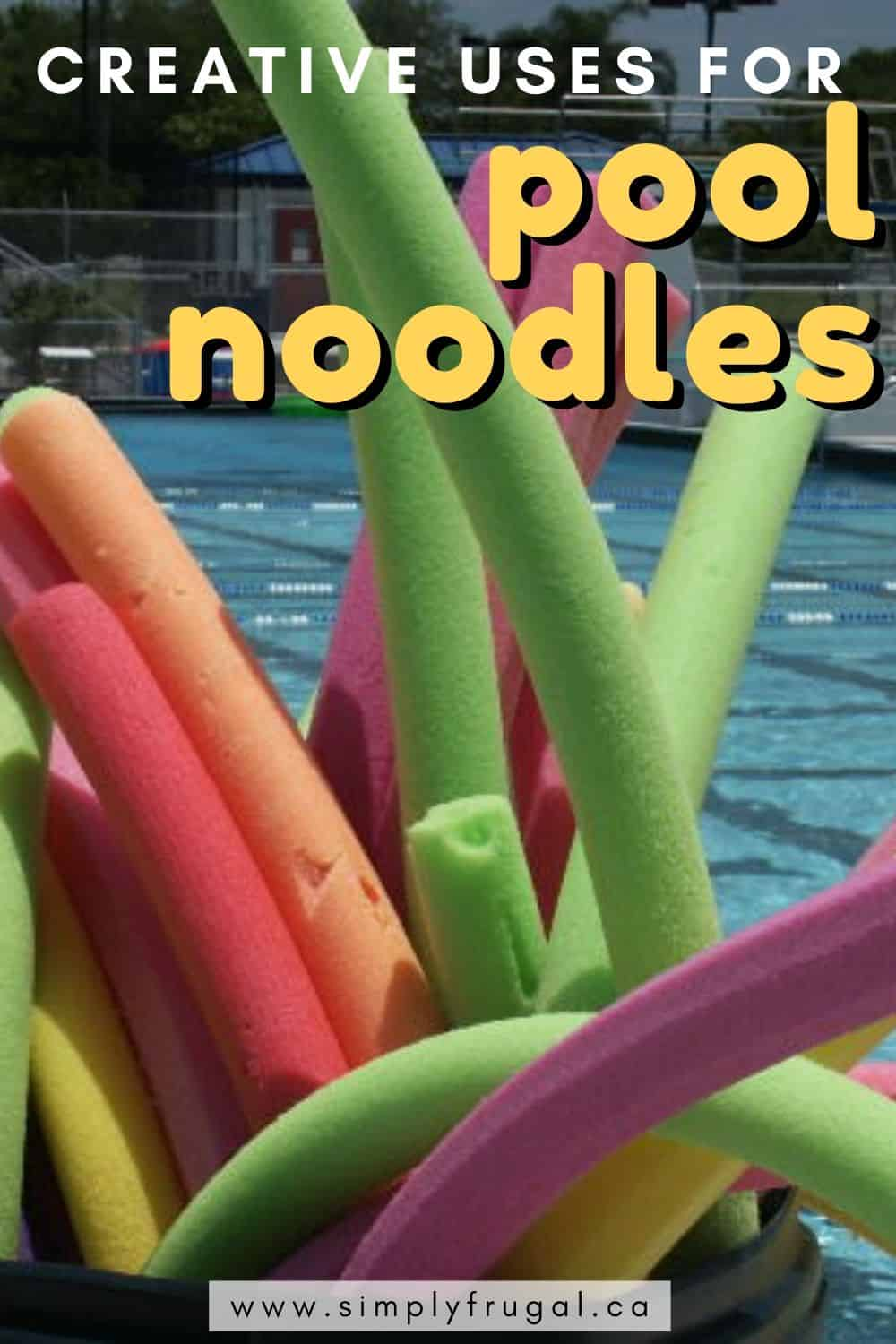 If you have a few extra pool noodles on hand, or just feel like getting creative, check out these 7 creative uses for pool noodles!