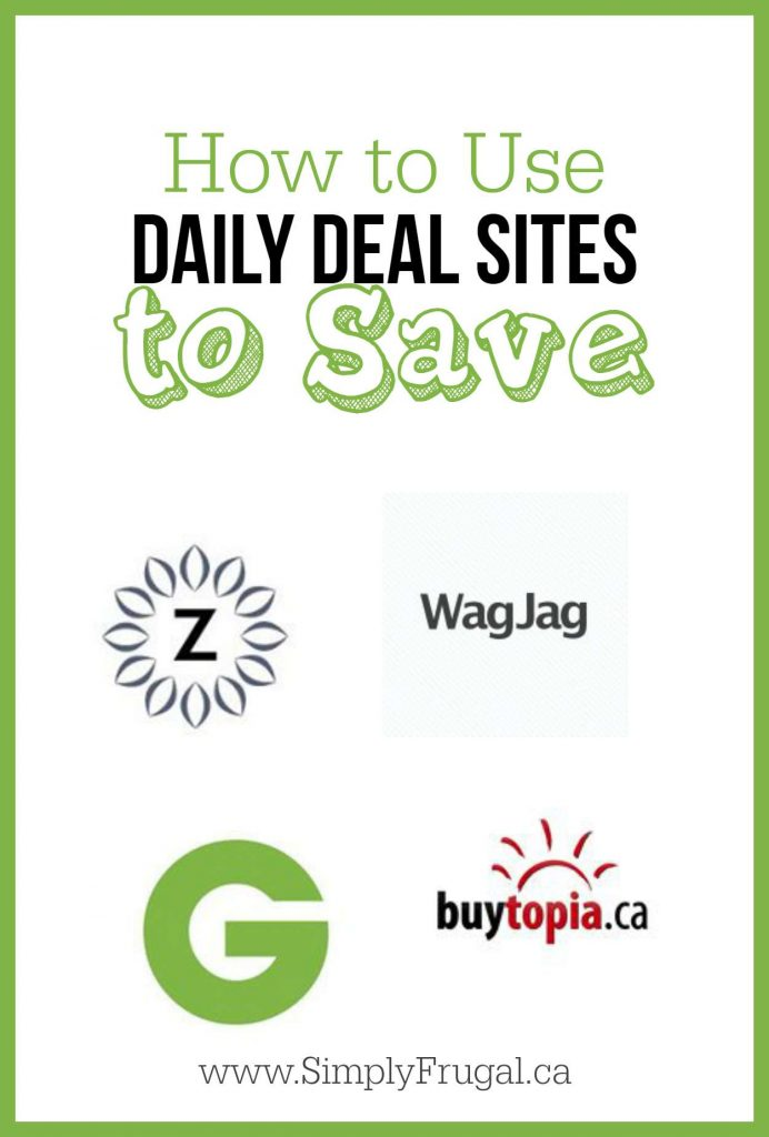 How to Use Daily Deal Sites to Save
