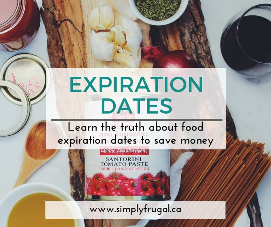 Expiration dates on food in Perth