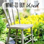 5 Things to Buy New, 5 Things to Buy Used