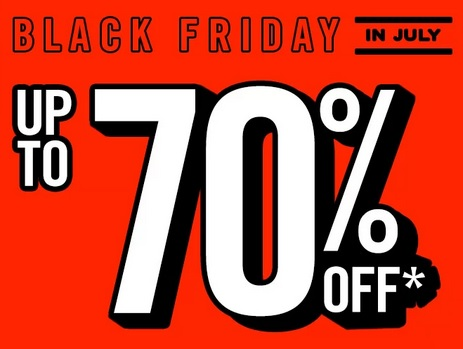 Forever 21 Black Friday in July: up to 70% off! -