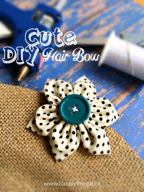Whether you're young or young at heart, these are the easiest and cutest DIY hair bows for any age!