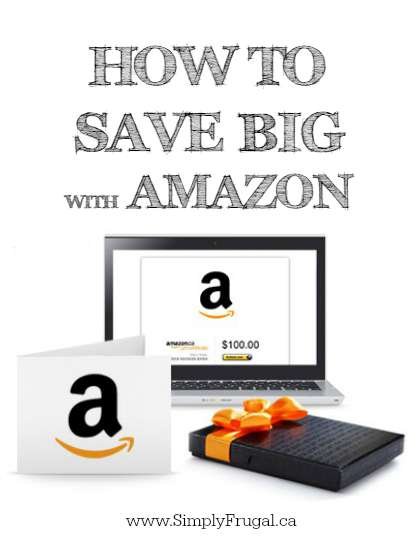 How to Save BIG with Amazon - Take a look at these 6 ways to save money shopping online at Amazon to  get your household essentials, books, clothing and more at even better prices.
