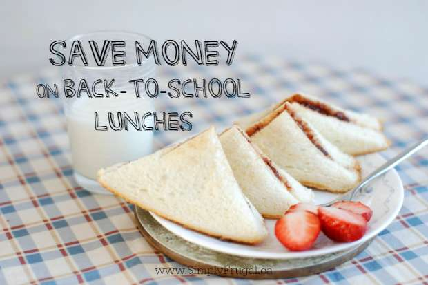 Save Money on Back to School Lunches