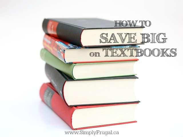 Save on Textbooks