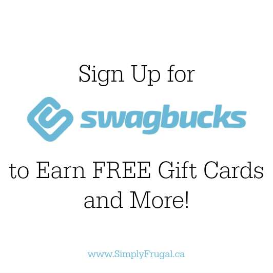Sign Up for Swagbucks to earn FREE gift cards and more!