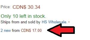 amazon hidden price