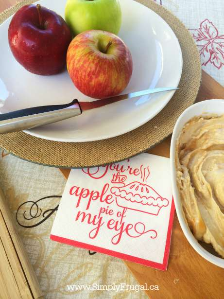 DELICIOUS CARAMEL APPLE DIP  You're going to want to find a spoon, I mean an apple or two, to try this delicious Caramel Apple Dip!