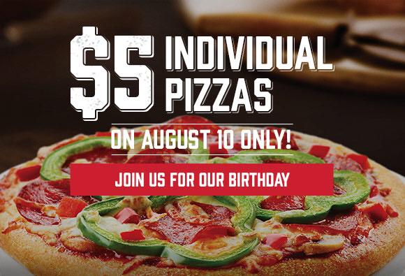boston pizza birthday