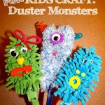 Kids Craft: Duster Monsters