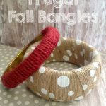 DIY: Frugal Fall Bangles