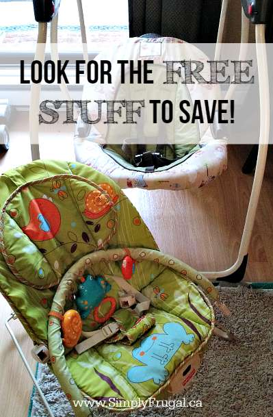 Look for the Free Stuff to Save