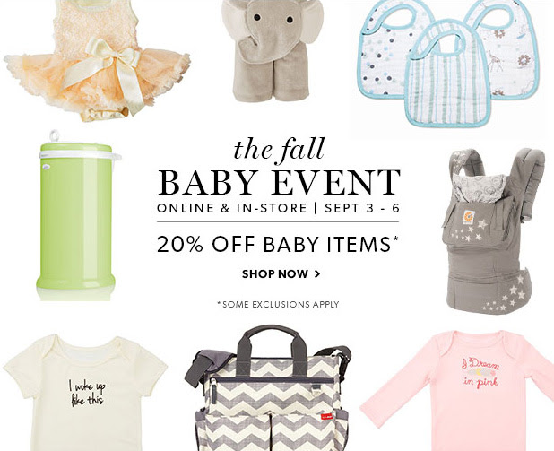 chapters baby event