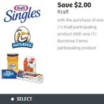 New Coupon for $2 off Kraft and Burnbrae Farms Products