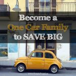 52 Ways To Save: Become a One Car Family