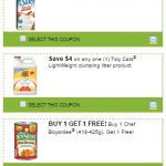 New Printable Coupons for Silk, Chef Boyardee and Tidy Cats