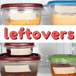 Take a look at these 7 ways to make the most of leftovers so you can stretch your grocery budget each week, even if your family isn't crazy about the idea of leftovers!