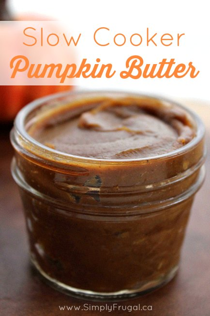 Slow Cooker Pumpkin Butter - This delicious homemade Slow Cooker Pumpkin butter is perfect for fall. Add to your toast, muffins, or use it in some fall recipes for added flavor. Delicious!