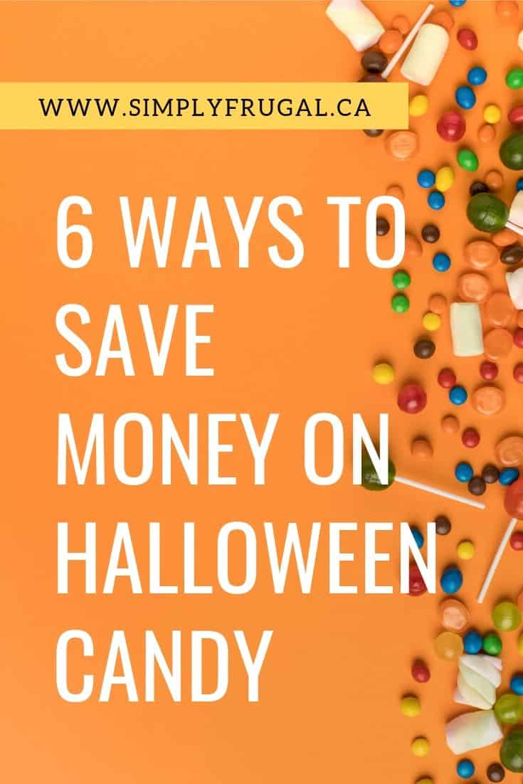 Take a look at these 6 simple ways to save money on Halloween candy and get the sweets you need for less.