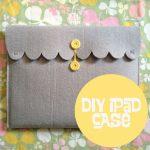 A Homemade Christmas Gift: iPad Case