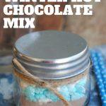 A Homemade Christmas Gift: Winter Hot Chocolate Mix