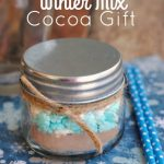 A Homemade Christmas Gift: Winter Mix Cocoa Gift