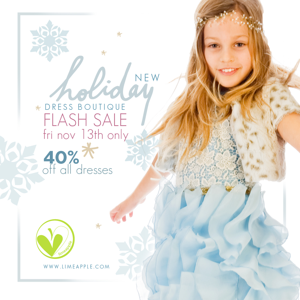 Limeapple.ca: 40% off Holiday Dresses