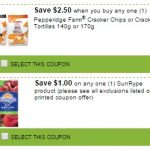 New Printable Coupons for SunRype and Pepperidge Farm