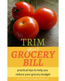 trim your grocery bill cover small