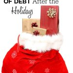 Tips for Getting Out of Debt After the Holidays