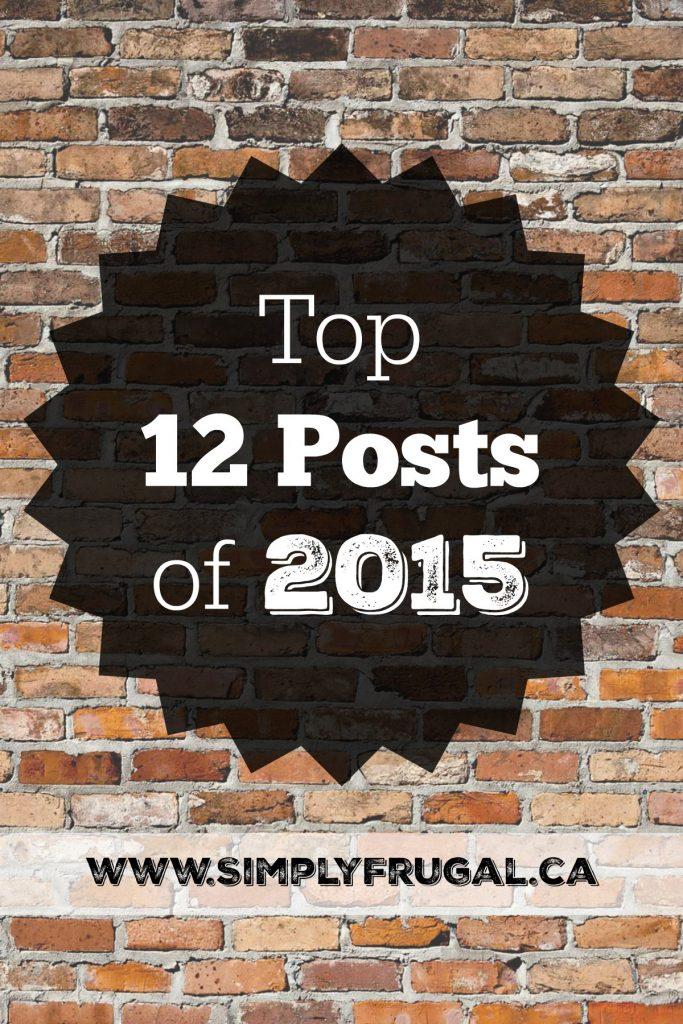 Top 12 Posts of 2015