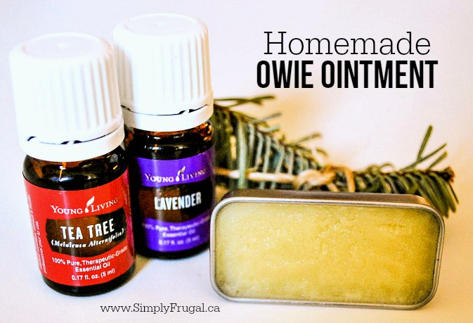 Learn how to easily and inexpensively make your own Homemade Owie Ointment!