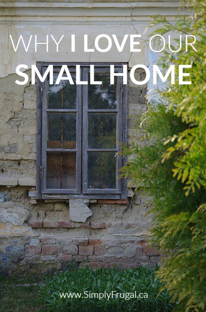 Small homes are not a bad thing! Here are 5 fantastic reasons why you should  love your small home.