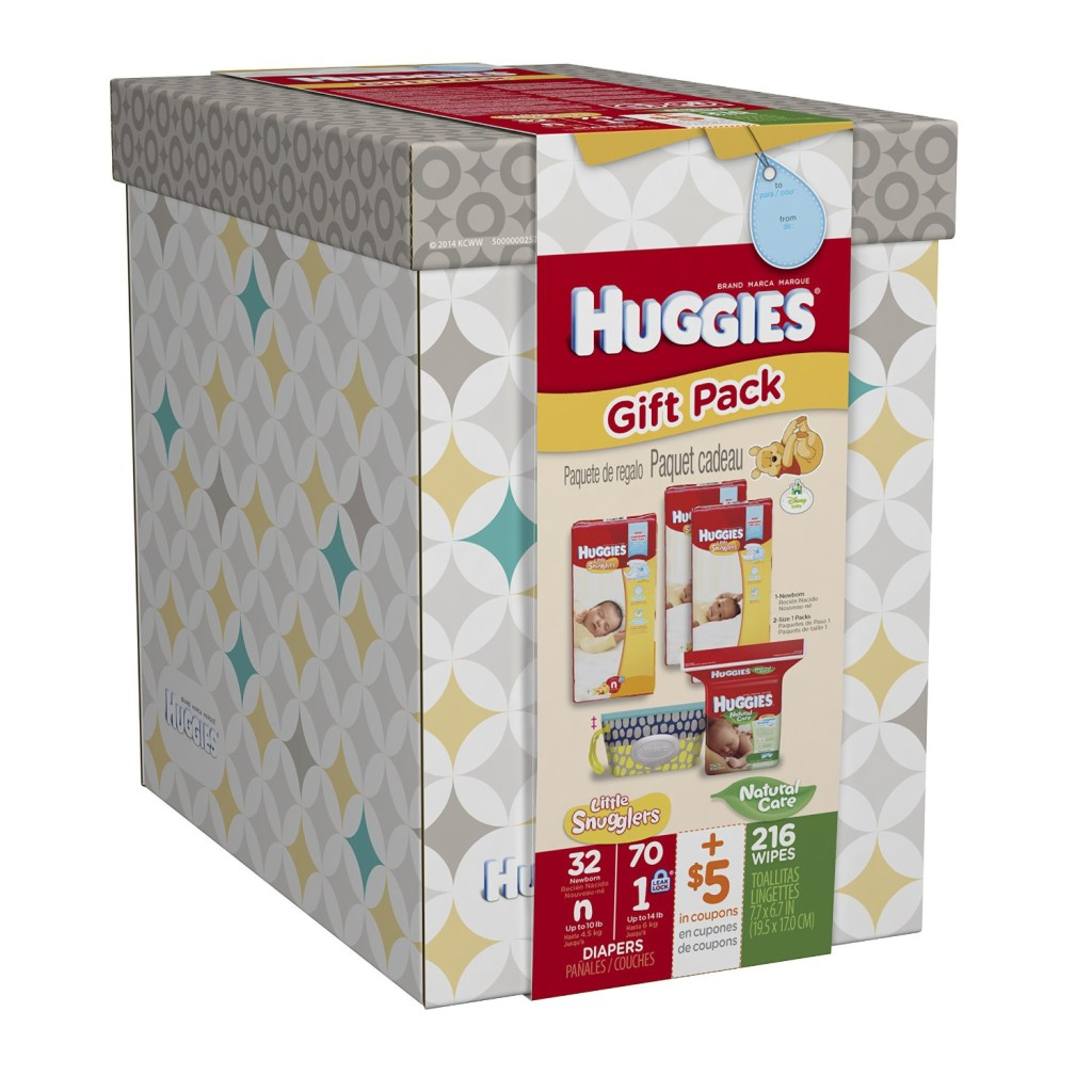Baby Gift Pack : Huggies baby care gift pack only