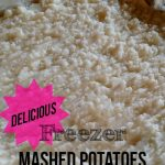 Freezer Mashed Potatoes