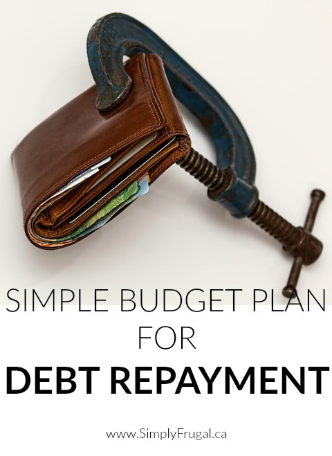 Don't miss our Simple Budget Plan For Debt Repayment!  Great tips to get you out of debt and financially free in no time!