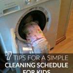 7 Tips For A Simple Cleaning Schedule For Kids