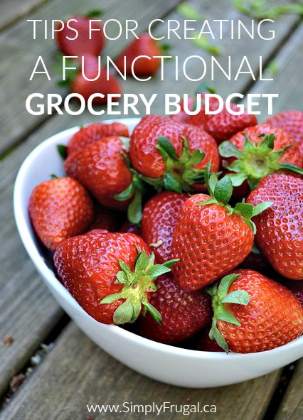 Don't miss our top Tips For Creating A Functional Grocery Budget! There are great ideas to give you family a great meal at a reasonable price!