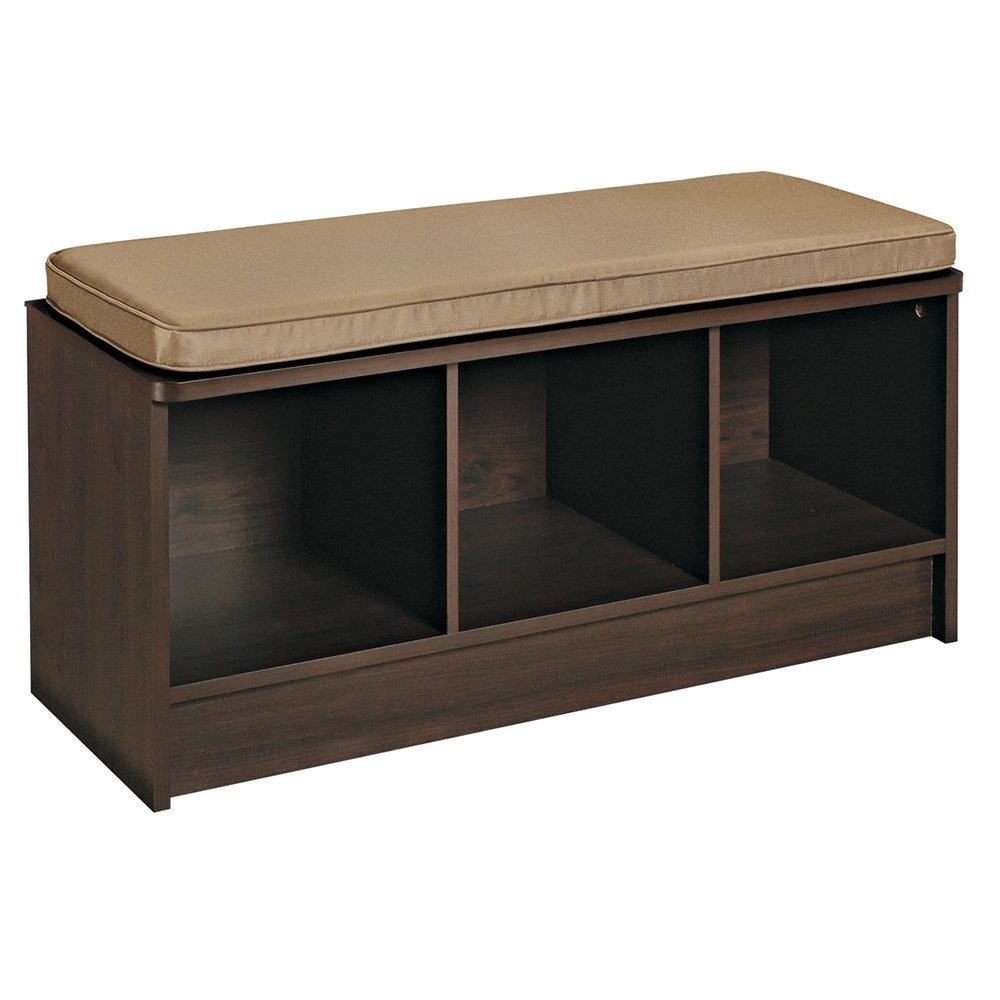 Closetmaid 3 cube storage bench only 64 Bench with shelf