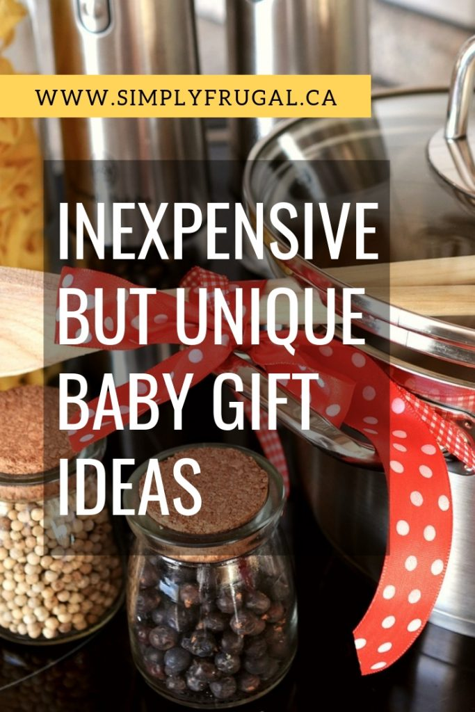 So many great ideas! These 7 inexpensive but unique baby gift ideas will surely be a hit! #babygifts #uniquebabygifts