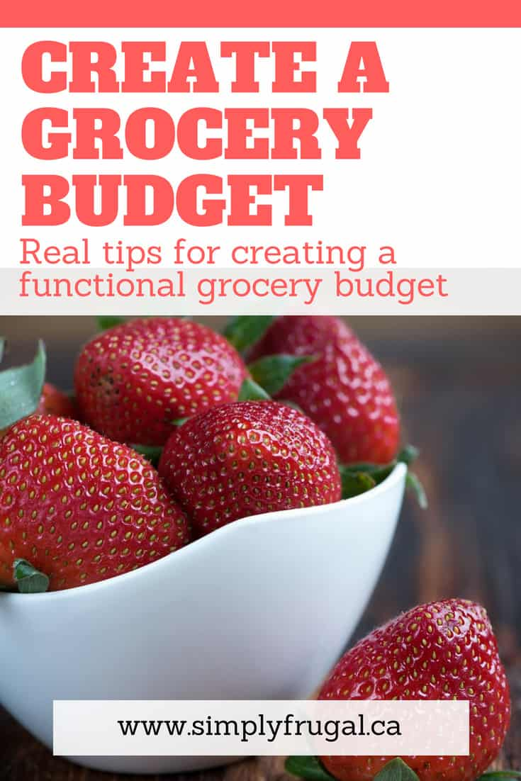 Don't miss these top Tips For Creating A Functional Grocery Budget. There are great ideas to give your family a great meal at a reasonable price! #grocerytips #budget #budgeting #groceryhacks