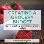 Tips For Creating A Functional Grocery Budget