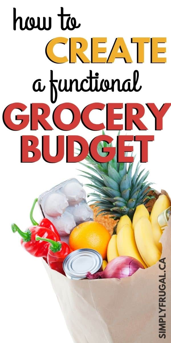 Don't miss these top tips for Creating A Functional Grocery Budget. These are great ideas to give your family great meals at a reasonable price!