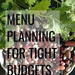 You've got to check out these top 7 Budgeting Tips For Menu Planning to give your family amazing meals while easily saving money!