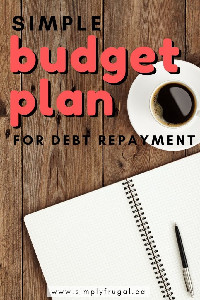 These tips for how to create a simple budget plan specifically for debt repayment will help you to get out of debt easier and faster than ever before.