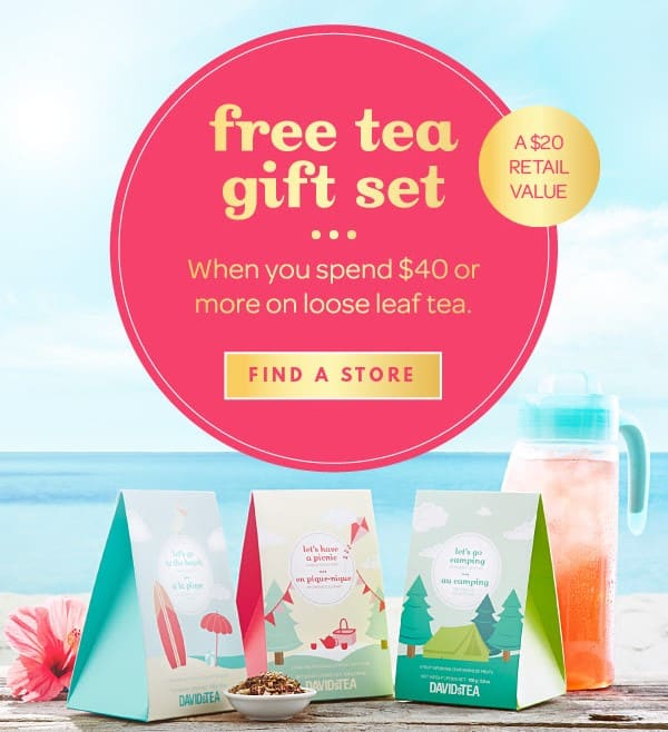 Davids Tea Free Tea Gift Set With Purchase